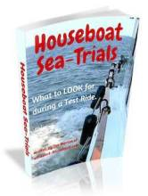 Houseboat Sea Trials & Test Rides