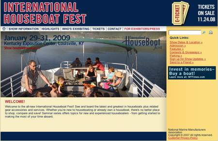 International Houseboat Fest show - IHF