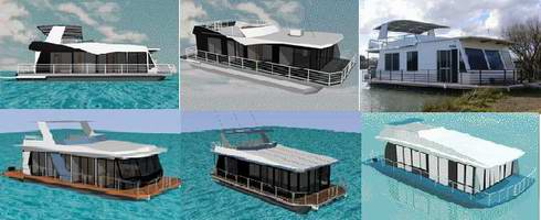 free, or almost free Houseboat Plans