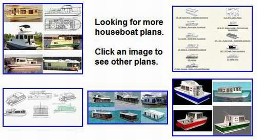 more almost free Houseboat Plans