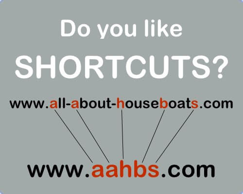 All About Houseboats shortcut to AAHBS.com
