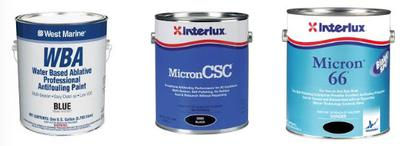 Different types of antifouling paints for your houseboat