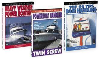 Boat Handling - Houseboat Docking Video DVD