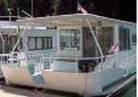 A typical Boatel Houseboat