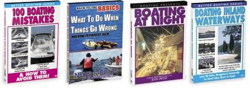 Boating Houseboat Video DVD