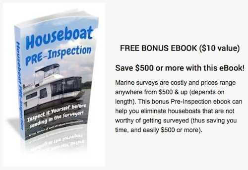 Bonus Houseboat Pre-Inspection ebook