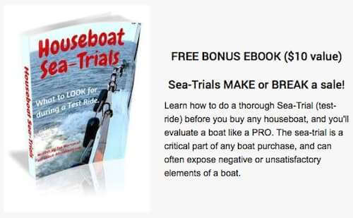 Bonus Houseboat Sea-Trial ebook