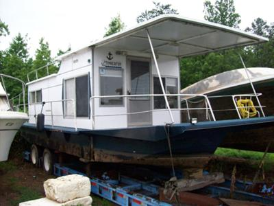 TINKERTOY - a Coleman Saling houseboat