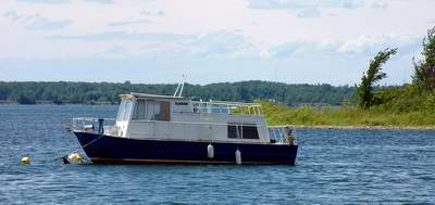 Complaints from Anchoring Houseboat near Island and Bays
