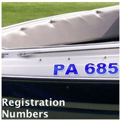 House Boat Registration Numbers