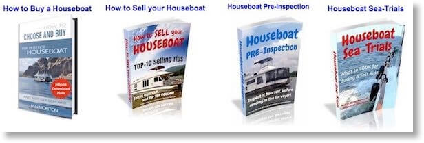 Collection of Boat & Houseboat Books