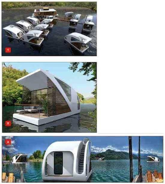SAVANTI, the New Floating Home, Modern Style Houseboats
