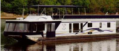 A typical Flotel Houseboat