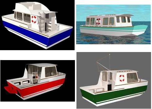Houseboat Plans on How to Build a Houseboat, with free plans