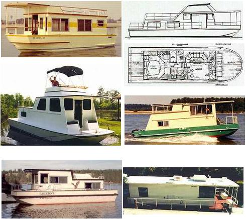 Free or almost free houseboat plans