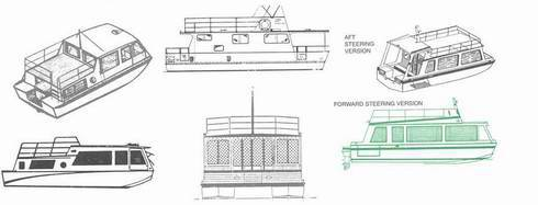Houseboat Plans on How to Build a Houseboat, with free plans as a bonus