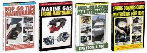 General boating houseboat maintenance repairs video dvd