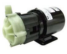 Marine AC pumps for houseboats