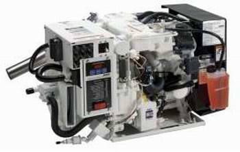 A typical new Koehler Generator for Houseboats.