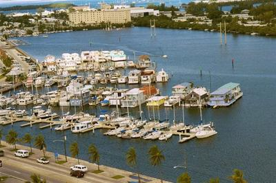 Houseboats in City Marina, Key West, Florida