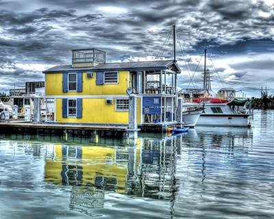 Floating Home Houseboat In Key West Florida