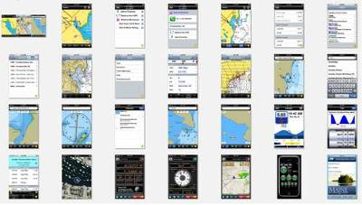 Houseboat Navigation Charts with iPhone GPS marine applications