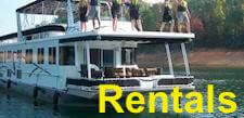 Houseboat Rentals - vacation boat rental