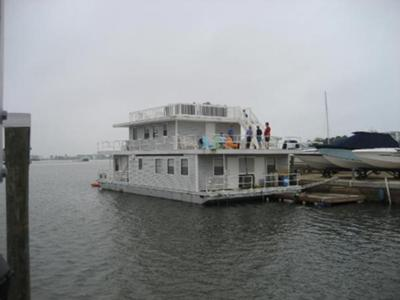 Our families 66 ft Floating Houseboat Home that we Love!