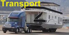 Houseboat Transport - quote a boat move