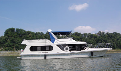 Cross state houseboat shipping estimate