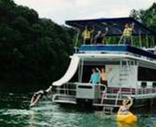 Fiberglass Houseboat products & Water Slides