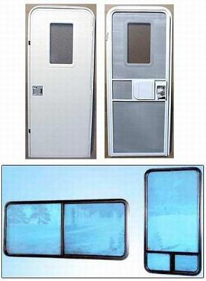& Houseboat Windows and Doors sizes - try RV Trailer Campers
