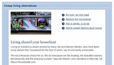Houseboats as a Cheap Housing Alternative