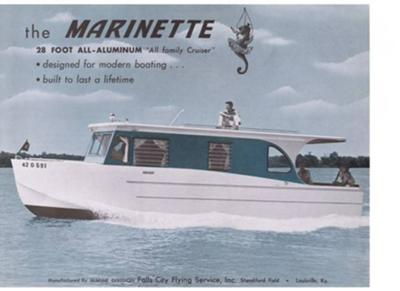 Hybrid Houseboats - any 28' Marinette boats around?