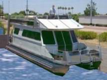 No ocean travel for pontoon house boats