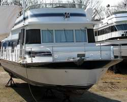 Is a houseboat suitable to travel the ocean?
