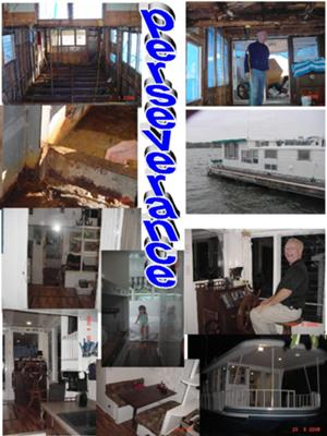 Perseverance - our refurbished Lazy Days houseboat