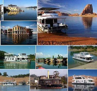 So many houseboats