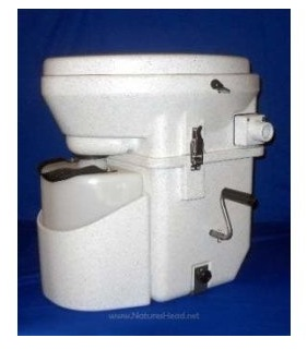 Houseboat Heads - Natures Head composting toilet