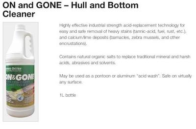 Mariners Choice: Hull and Bottom Cleaner