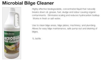 Mariners Choice: Microbial Bilge Cleaner