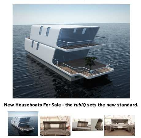 Future Modern Houseboats-the styles are ready now