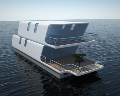 New Houseboats For Sale - the tubiQ house boat sets the new standard.
