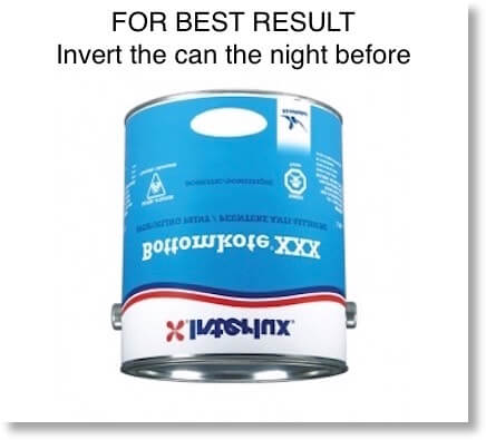 Antifouling paint for houseboats