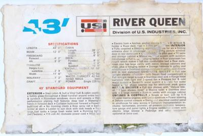Original photos and history of River Queen houseboats