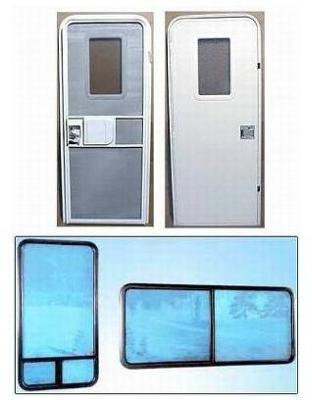 RV windows and doors available for houseboats