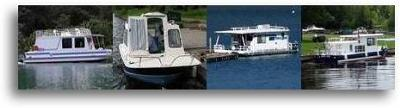 Small Trailerable Houseboats which model to buy and new or used