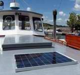 solar panels houseboats