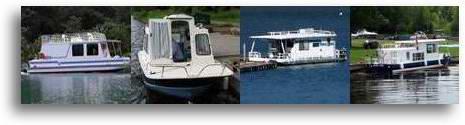 Homebuilt Houseboats