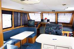 Charmant Interior Houseboat Designs
